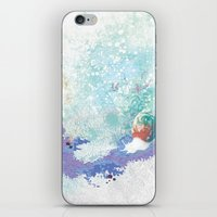 snail iPhone & iPod Skins featuring Snail by ARTION