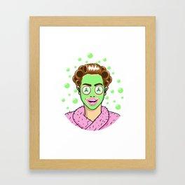 Beauty Monster Framed Art Print