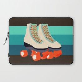Retro Roller Skates Laptop Sleeve