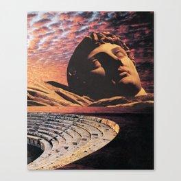 Vanished Empires Canvas Print