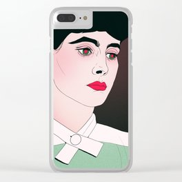 Do Androids Dream? Clear iPhone Case