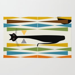 Mid-Century Modern Art Cat 2 Rug
