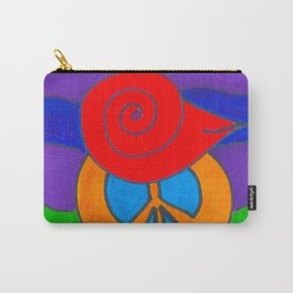 Make Peace Bird's Sister Carry-All Pouch