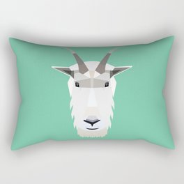 Mountain Goat Rectangular Pillow