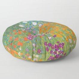 Cottage Garden Floor Pillow