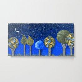 Night Grove Metal Print