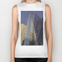 philadelphia Biker Tanks featuring Beautiful Philadelphia by khi'en