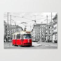 vienna Canvas Prints featuring Vienna by Ira Golenkova