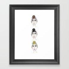 Pretty Ladies Framed Art Print