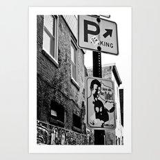 Hip Stag Art Print