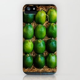 Box of Limes iPhone Case
