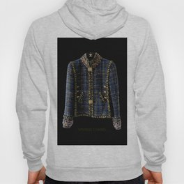 coco vintage blue and gold jacket Hoody