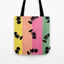 90s Palm Tree Vibe Tote Bag