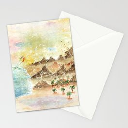 Landscape Nature Watercolor Art Stationery Cards