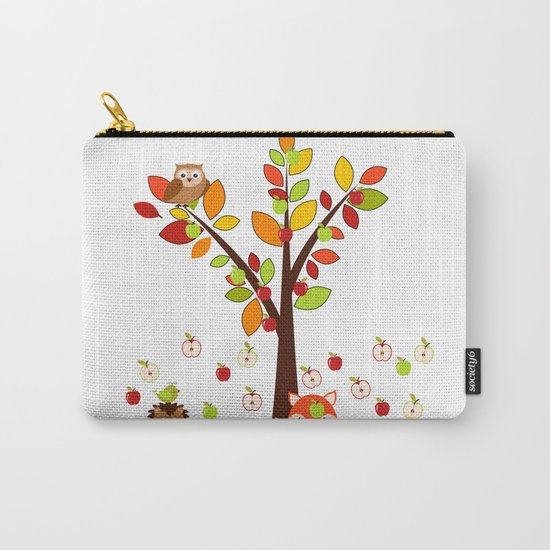 Rain Apples Carry-All Pouch