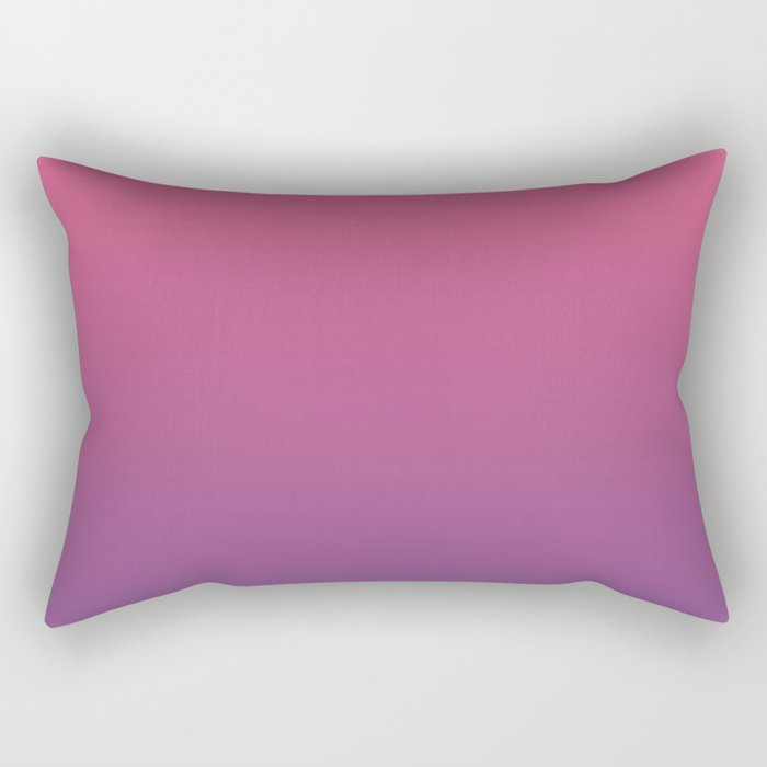 Bright Pink Ultra Violet Gradient | Pantone Color of the year 2018 Rectangular Pillow