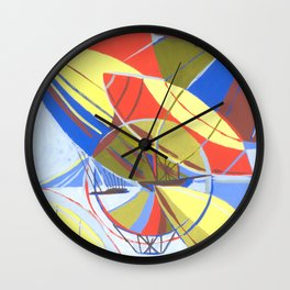 travel across the sky Wall Clock