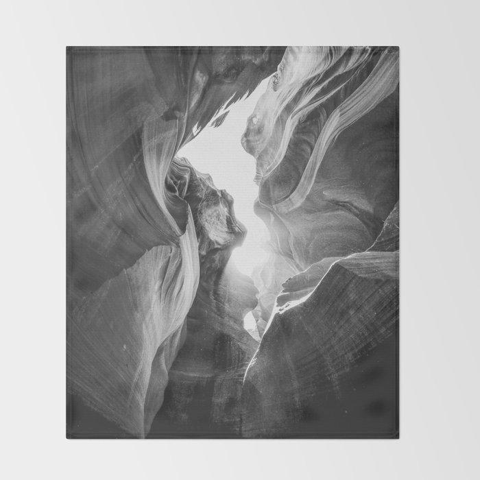 ANTELOPE CANYON III / Arizona Desert Throw Blanket