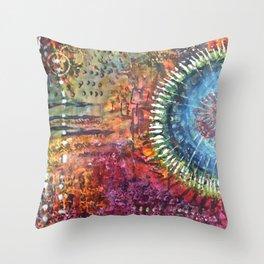 Bohemian Rhythms Throw Pillow