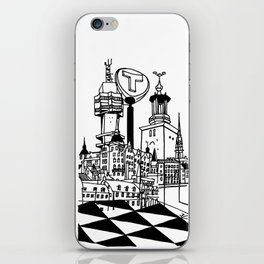 STHLM Silhouettes iPhone Skin
