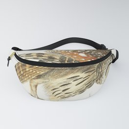 Plat from Birds of America (1827) by John James Audubon etched by William Home Lizars Fanny Pack