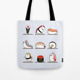 Sushi Yoga Tote Bag