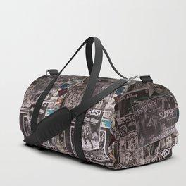 Punk Wall Duffle Bag