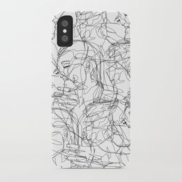 Love on Repeat iPhone Case