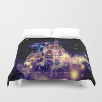 celestial Duvet Covers featuring Celestial Palace by Whimsy Romance & Fun