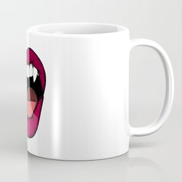 Vamp Lip Coffee Mug