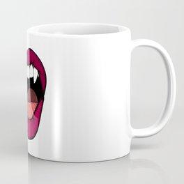 Vamp Lip Coffee Mug
