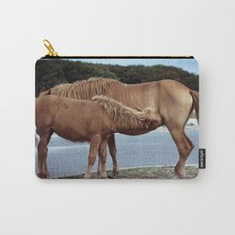 nursing foal Carry-All Pouch
