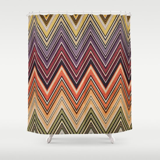 MISSONI Shower Curtain By Lucreziasemenzato