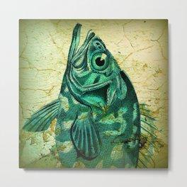 Pretty Big Fish Metal Print