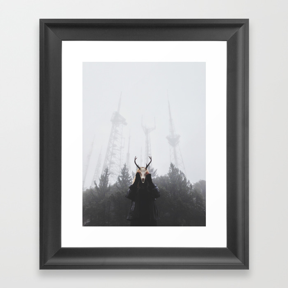 The Place Beyond The Pines Framed Art Print by Ravivora FRM955879