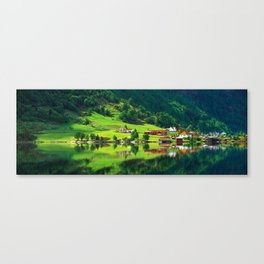 naturel forest Canvas Print