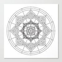 celtic Canvas Prints featuring celtic by blacksparrow
