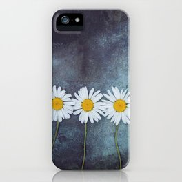 Three marguerites iPhone Case