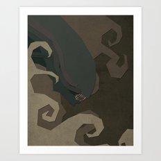 Paper Heroes - Alien Art Print