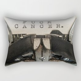 FUCK CANCER Rectangular Pillow
