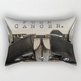 FUCK CANCER Rectangular Pillow
