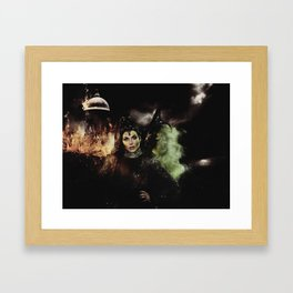 Sisters: The Evil Queen and The Wicked Witch Framed Art Print