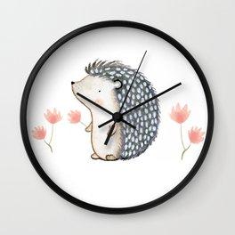 Hedgehog Wall Clock