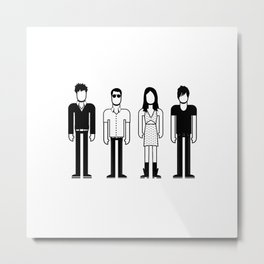 The Pains of Being Pure at Heart Metal Print
