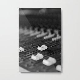 Mixer Metal Print