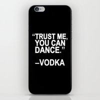 dance iPhone & iPod Skins featuring Trust me, you can dance. by Sara Eshak