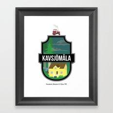 kvsjmla Framed Art Print