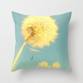 Dandelions #4 Throw Pillow