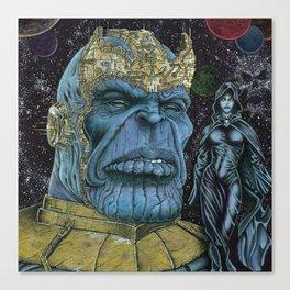 Thanos Canvas Print