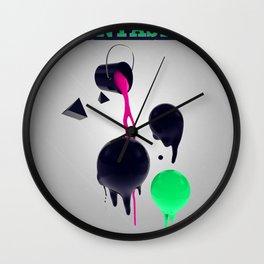 Plastik Vontastik - The Paint Wall Clock